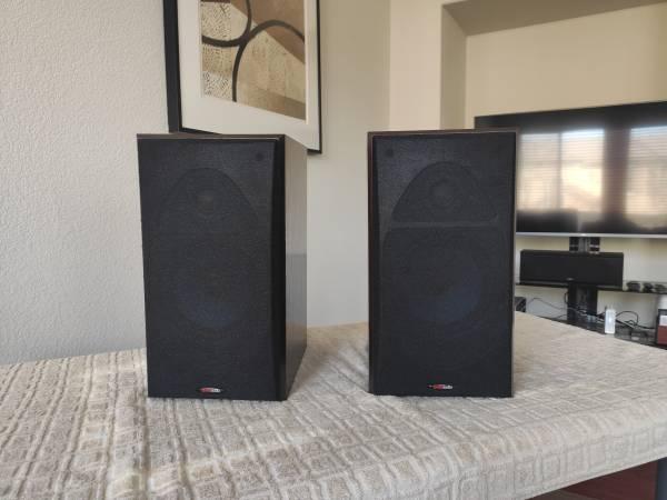 Photo Polk Audio RTi-38 Bookshelf Speakers - Modified For Audiophile - $129 (Southport, West Sacramento)