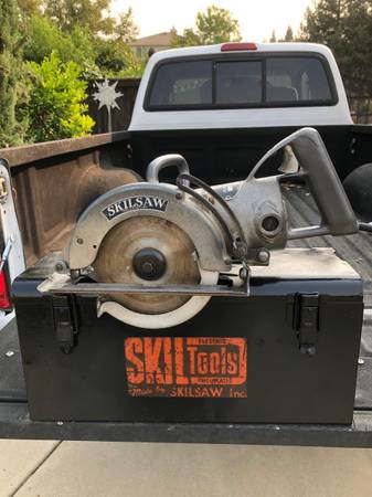 Photo RARE VINTAGE SKILSAW 7-14-in Worm Drive - $120 (El Dorado Hills)