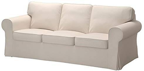 Photo Replacement Cover for IKEA Ektorp 3-seat Sofa without Chaise - $75 (Antelope)