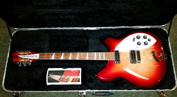 Photo Rickenbacker 360-12 Stereo 12-String Guitar - $1895 (East of Sac)