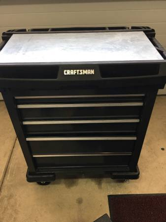 Photo Rolling Craftsman Tool box with tools - $350 (Folsom)