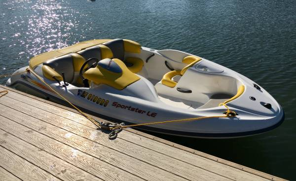 Photo SeaDoo Speedster Bombardier Jet Boat - $12,000 (Walnut Grove)