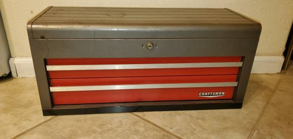 Photo Sears Craftsman Tool Box 2-Drawer mechanics 65336 Tool Chest  - $80 (North Highlands)