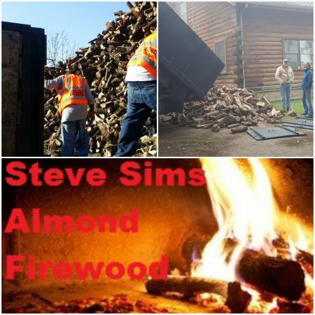 Photo Seasoned Almond Firewood - $125 (Always free delivery)
