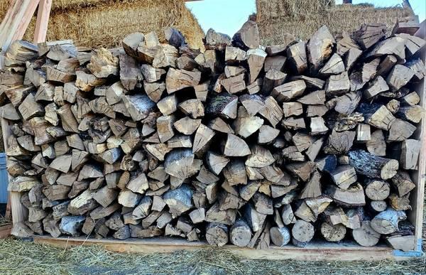 Photo Seasoned Oak Firewood - $300 (Lincoln)