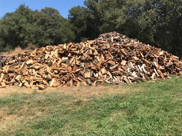 Photo Seasoned  Split Oak Firewood - $235 (Roseville  Granite Bay  Loomis)