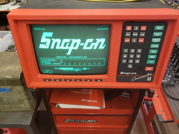Photo Snap-on Scope, Toolboxes  More (Roseville)