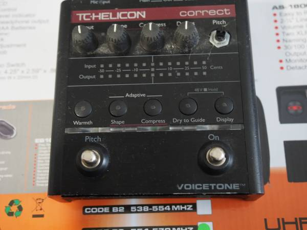 Photo TC Helicon Vocal connect - $70 (Folsom)