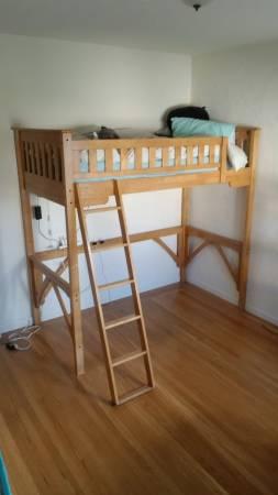Photo Twin Loft Bed with Mattress - $380 (El Dorado Hills)