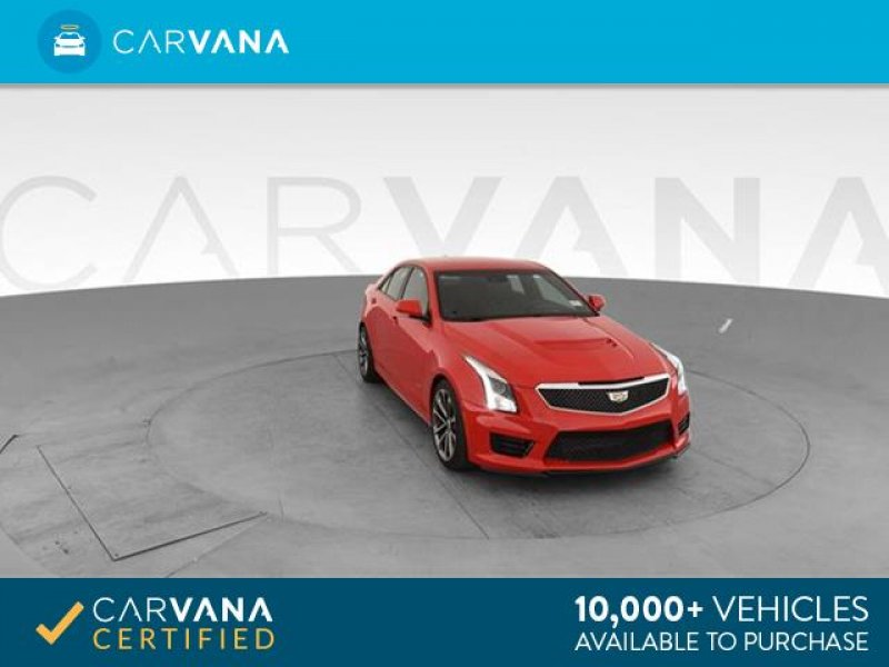 Photo Used 2017 Cadillac ATS V Sedan w Luxury Package for sale