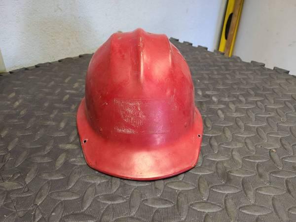 Photo Vintage Ed Bullard 502 Aluminun Hard Hat Iron Workers Hard Hat - $200 (Redding)
