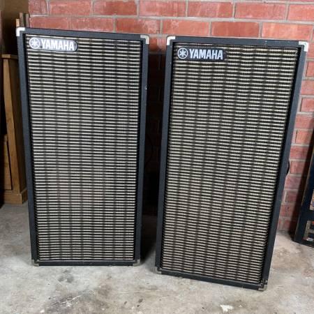 Photo Vintage Yamaha PA Speakers BIG - $75 (Sacramento)