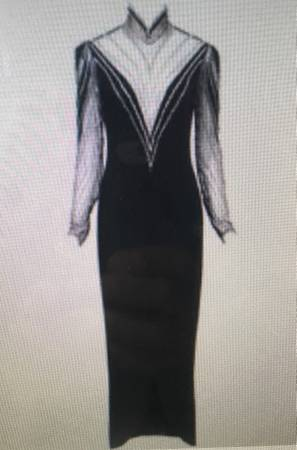 Photo Vintage designer evening gown Bob Mackie Boutique Size 6-8 - $2,400 (Sacramento)