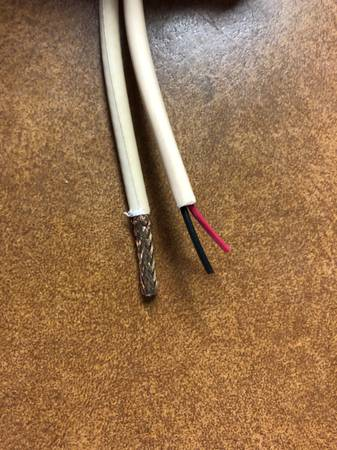 Photo West Penn Wire 252815 RG-59 20 SOLID BARE CMP  1 PAIR 18 STND SIA - $80 (Sacramento  Citrus Heights)