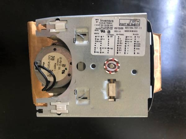 Photo Whirlpool Washer Timer Model LSR7233DQD (Davis)