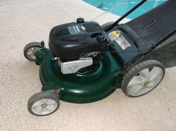 Photo Yard Machines 6.0 HP Lawn Mower - $130 (Citrus Heights)