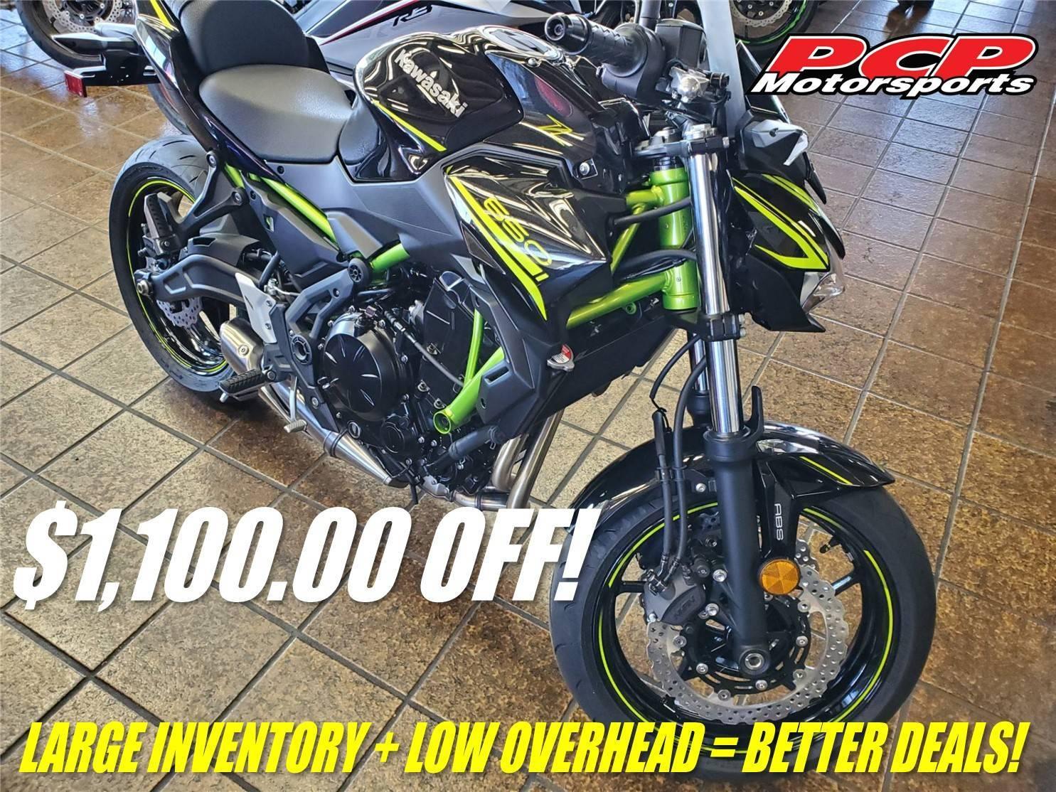 Photo 2020 Kawasaki Z650 ABS $6649