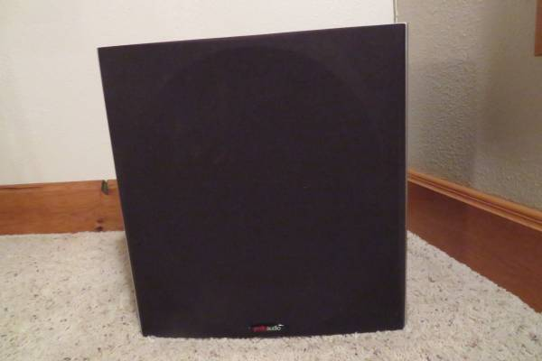 Photo NEW  12quot POWERED SUBWOOFERS, POLK AUDIO, BARELY USED - $450 (Citrus Heights, CA)