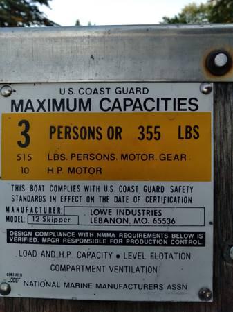 Photo 12 FT. Aluminum boat - $1,700 (Saginaw)