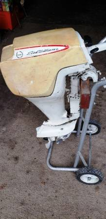 Photo 1965 Sear 7.5 HP Ted Williams Outboard motor with Forward and Reverse - $250 (Quanicassee)