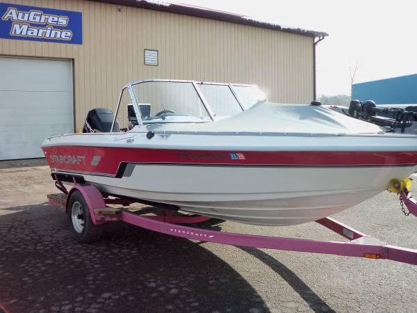 Photo 1996 Starcraft 18ft Fishing Boat - $10,500 (Au Gres, MI)