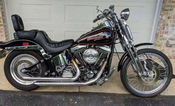 Photo 2004 Harley Davison Springer 1450 Original Miles - $8,800 (Gladwin)