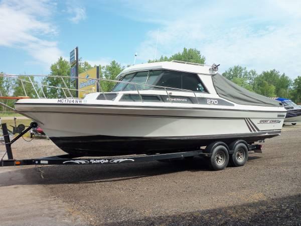 Photo 27ft Sportcraft Hard Top Fishing Boat - $17,200 (Au Gres, MI)
