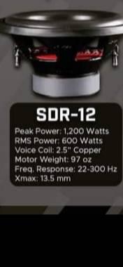 Photo 2 skar audio sdr subs - $150 (Saginaw)
