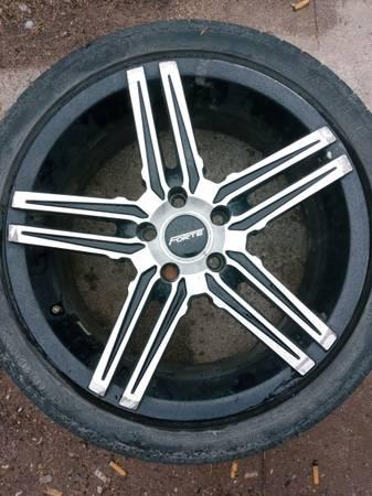 Photo 4 18quot Forte wheels 5 lug - $250 (Vassar)