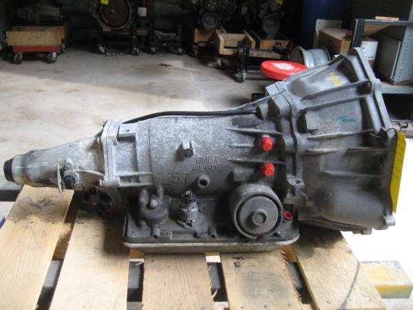 Photo 98 S-10 4L60-E transmission 4x2 - $300 (Burdick Truck Parts, Hope, MI)