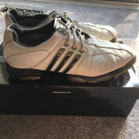 Photo Adidas Tour360 II Golf Shoes  lightly used, 11 wide. - $35 (Bay City)
