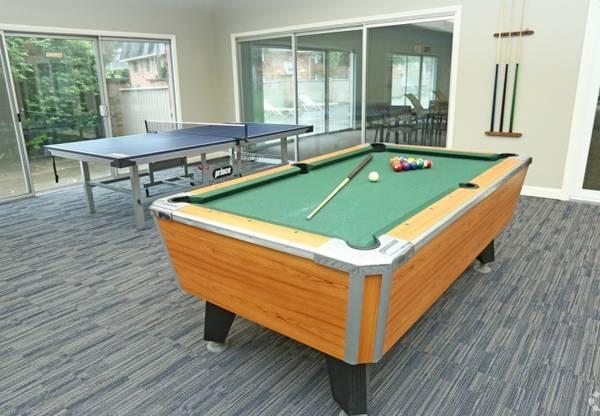 Photo Assigned Carports, Billiards Table, 1, 2 and 3-Bedroom Apartment Homes (2630 Abbott Road, Saginaw-Midland-Baycity, MI)
