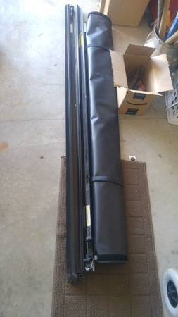 Photo Cargo cover truck bed cover - for 2018 Chevy Silverado double cab - $175 (Bay City)