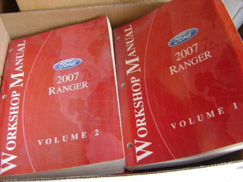 Photo Ford Dealership service manuals 2007 Ford Ranger PU vol 1  2 - $75 (Tri-Cities)