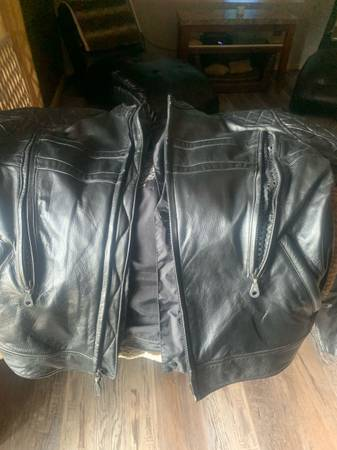 Photo Genuine Mens Harley Davidson Leather Jacket - $250 (Pinconning)