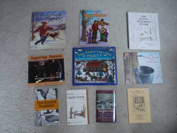 Photo Maple Syrup Books - $50 (East Lansing)