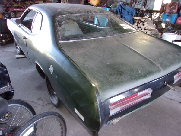 Photo Plymouth Duster 340 1972 - $6000 (mayville)
