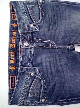 Photo Rock Revival jeans Sz 26 skinny. Like new. - $40 (Bay City)