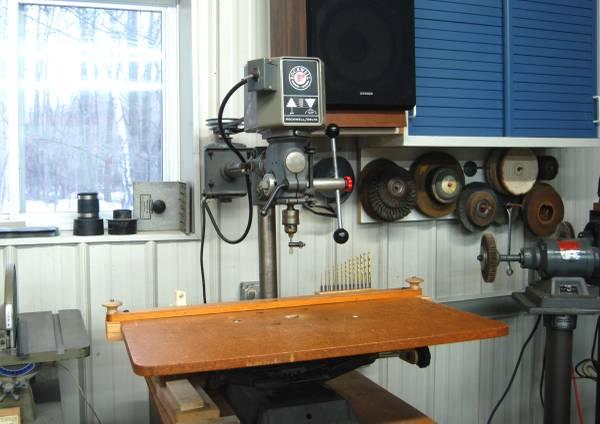 Photo RockwellDelta mod 11-072 32 inch radial drill press - $325 (saginaw)