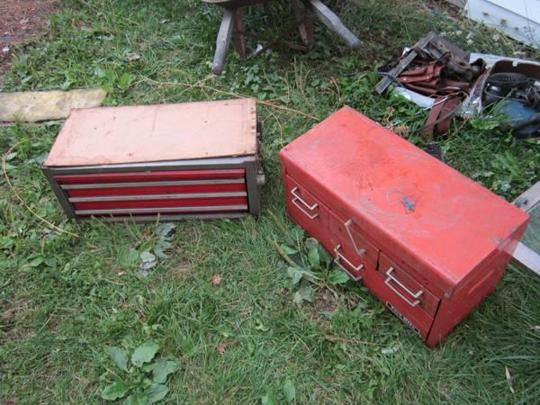 Photo Tool Boxes Craftsman - $30 (Saginaw)
