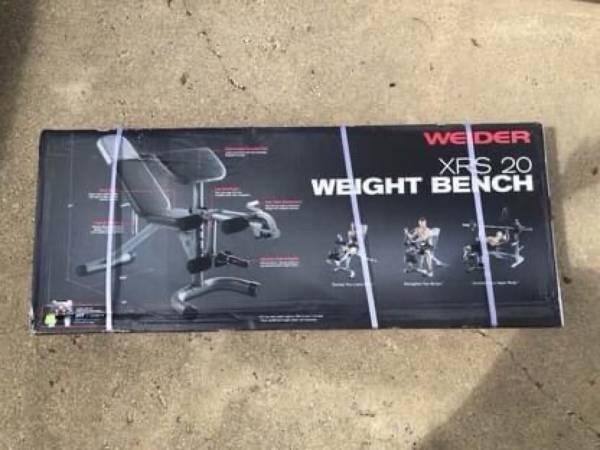 Photo Weider XRS 20 Adjustable Weight Bench - $150 (Saginaw)