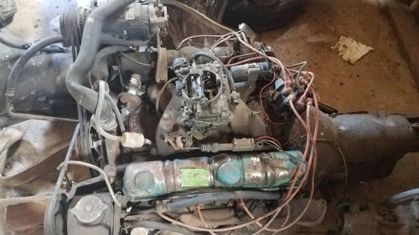 Photo 1965 Buick 401 Nailhead Enginetransmission - $900 (BATTLE GROUND)