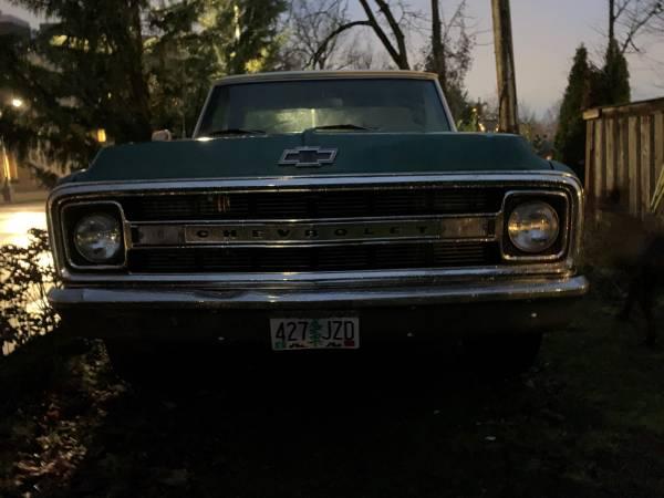 Photo 1970 Chevy C20 Big-Block Pick Up - $16000 (Salem, Oregon)