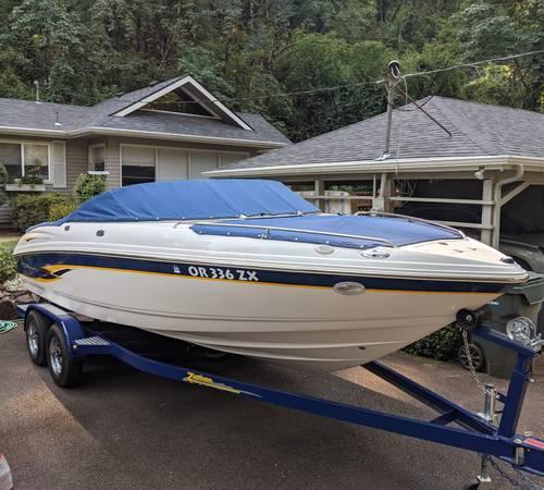 Photo 1-Owner 93 Hours 2000 Chaparral 216 SSi 21.5 Bowrider Sport Boat - $24,000 (Salem)
