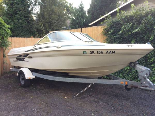 Photo 2001 SEA RAY-180 Bow Rider with Trailer - $12,199 (West Linn)