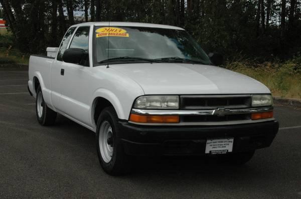 Photo 2003 CHEVROLET S10 X-CAB 2WD WLOW MILES 503-770-4008 - $6995 (420 LANCASTER DR SE SALEM 503-770-4008)