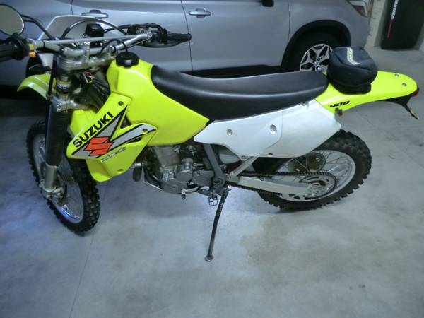 Photo 2003 Suzuki drz 400 - $3,500 (East of Salem)