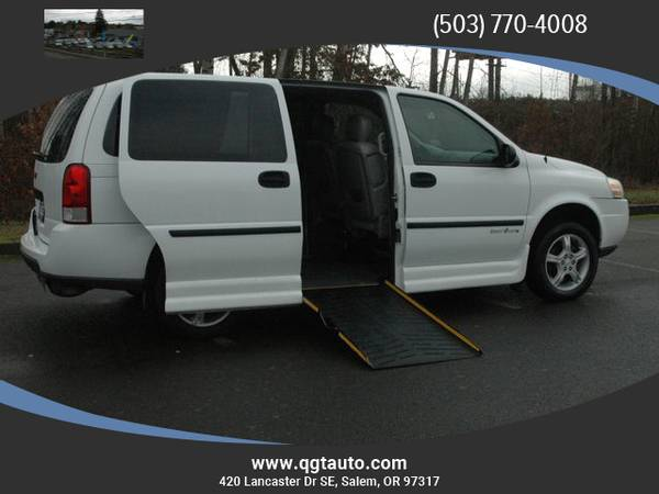 Photo 2008 CHEVROLET WHEELCHAIR ACCESIBLE VAN CONVERSION - $13495 (420 SE LANCASTER DR SE SALEM)
