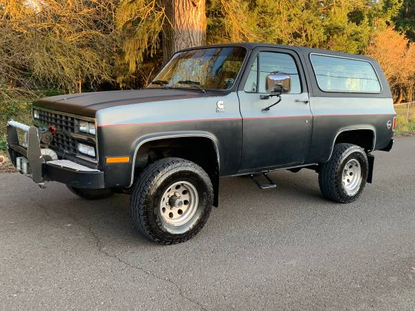 Photo 4bt Cummins diesel Chevy blazer 4x4 - $9000 (Lebanon OR)