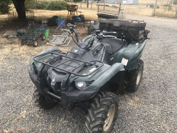 Photo ATV Yamaha Grizzly 700 for sale - $3,750 (Scio)